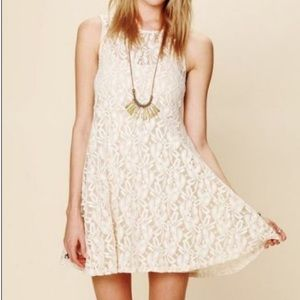🎉HP🎉 Free People Lace for Miles Minidress